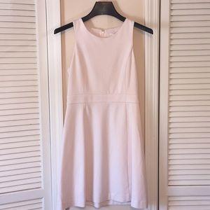 J Crew Classic Pale Pink Sleeveless Dress